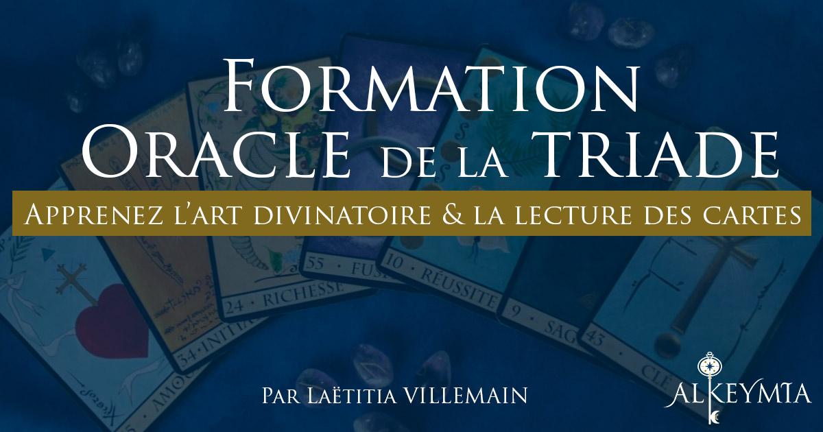Formation Oracle de la Triade
